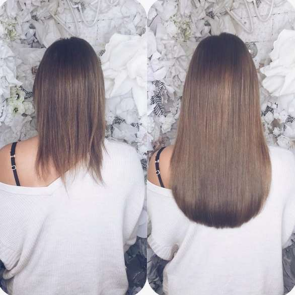 Hair Extensions For Short Hair Advice And Guidance From V B