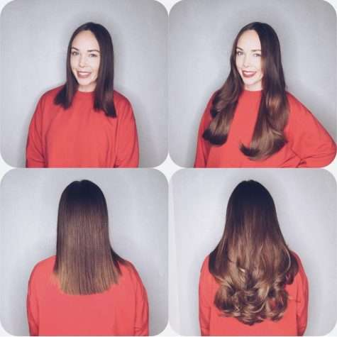 Completely seamless clip ins before after vixen blush after launching our very own range of clip in hair extensions clients wanted to know what made them special well theyre made from the very same salon pmusecretfo Choice Image