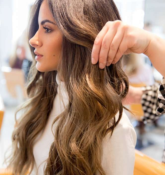 Hair extensions curl vixen and blush