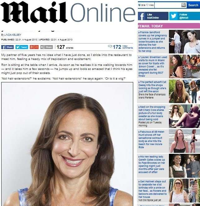 Daily Mail Do Older Women Look Good With Long Hair Vixen Blush