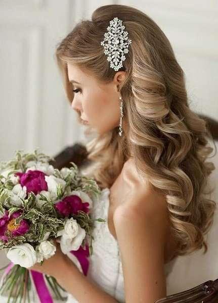Long Curly Wedding Hair Hale