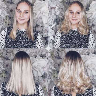 Hair salon extension specialists if youre happy with the length of your hair but just want to fill it out at the ends or give it extra volume a 12 head of hair extensions can work pmusecretfo Images