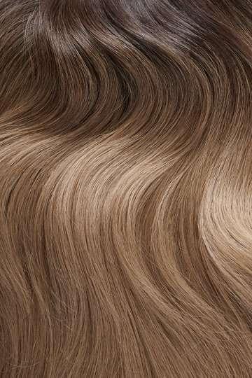 Shade C4, Soft Brunette Ombre - Hair Extensions Vixen & Blush