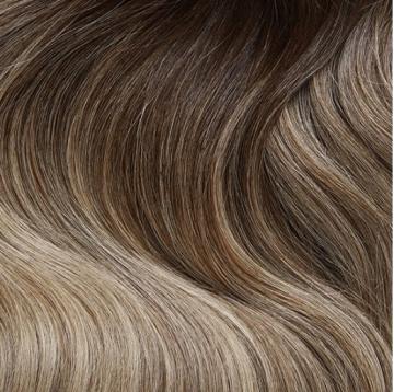 Invisible Tape Hair - C16 - Ash Tone Balayage