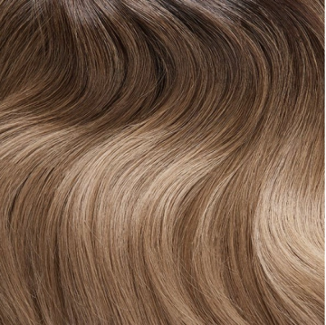 Invisible Tape Hair - C4 - Soft Brunette Ombre