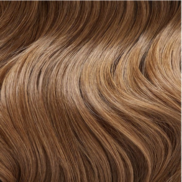Invisible Tape Hair - W4 - Warm Medium Brown