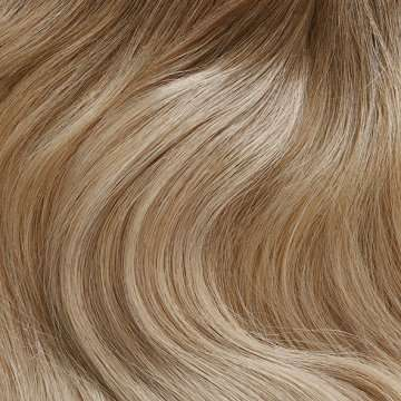 C19 - Rooted Champagne Blonde Hair Extensions