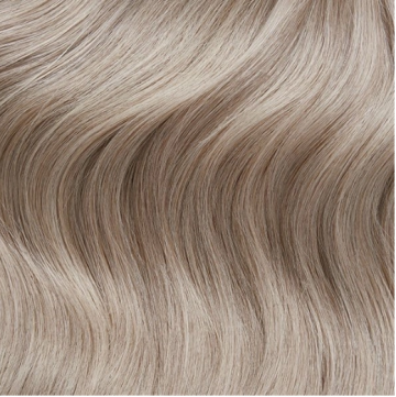 Weft Hair 90g - C18 - Cool Highlighted Blonde
