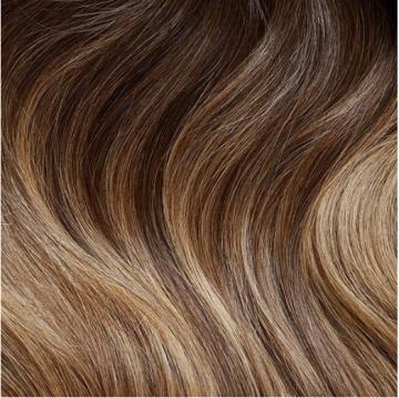 Weft Hair 90g - W13 - Golden Brown Balayage