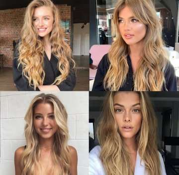 Inspiration image for C6 hair extensions
