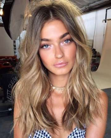 W7 - Sandy Dark Blonde Hair Inspiration