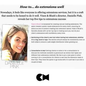 Hair Extension Press for Vixen & Blush