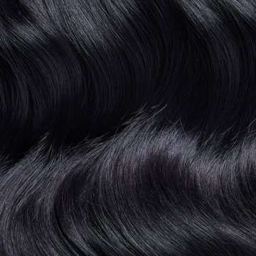 Shade 1 - Jet black hair extensions